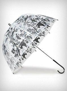 Birds & Branches Bubble Umbrella | PLASTICLAND - StyleSays