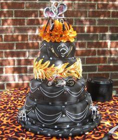 Harley Wedding Cake