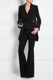 ChloéOversized crepe blazer
