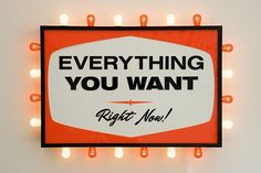 everything you want...