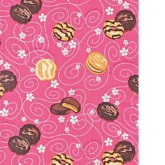 Pink cookie fabric - Can u say adorable?