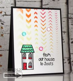 Chrissie Tobas (Harvest Moon Papiere): Sneak Peek of Mrs. Roger's Neighborhood! The Alley Way Stamps, TAWS, cards, clear stamps, Wreathed in Love, Mrs. Roger's Neighborhood