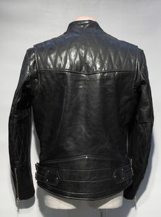 Leather jacket designed by someone w/ refined taste ~ Old Man Fancy.