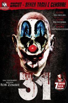 31 film completo horror del 2016 in streaming HD gratis in italiano, guardalo online a 1080p e fai il download in alta definizione.