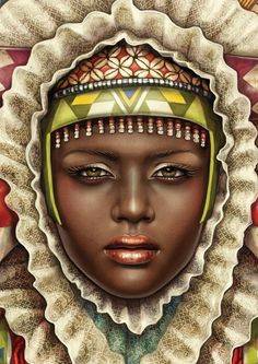 African Madonna by Studio Muti , via Behance
