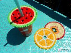 DIY: des couvres verres fuités pour l'été ♥