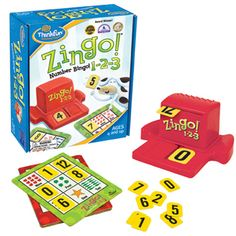 Our younger students LOVE Zingo 1-2-3!