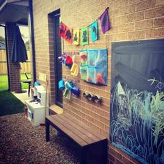 jardin avec aire de jeux DIY