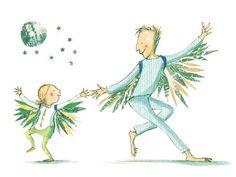 Polly Dunbar - My Dad's a Birdman by David Almond