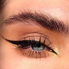 Edgy Makeup, Makeup Eye Looks, Eye Makeup Art, Cute Makeup, Makeup Goals, Skin Makeup, Eyeshadow Makeup, Makeup Inspo, Makeup Inspiration