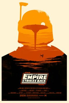 Awesome Star Wars Movie Posters by Olly Moss