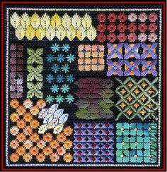 embroidery stitch patterns