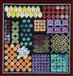 embroidery stitch patterns