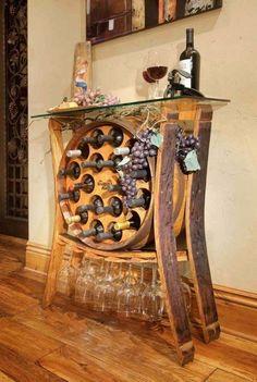 10 потрясающих примеров превращения деревянных бочек в оригинальную мебель и…