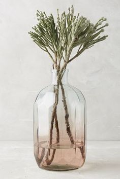 Blush pink home decor ideas from Vibe Alchemist: Anthropologie Gradient Vase Anthropologie, Home Decor Accessories, Decorative Accessories, Decorative Vases, Newport, Pink Home Decor, Girly, Minimalist Home Decor, Bud Vases