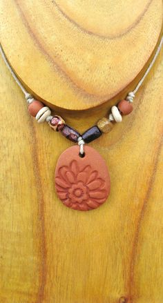 PERSONAL CLAY DIFFUSER.... terracotta flower.... by ReturnToEden1, $18.00