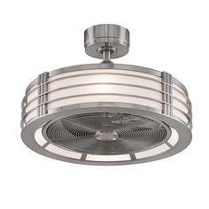 Bantry Drum Ceiling Fan, Semi-Flush Fan | Barn Light Electric