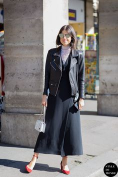 Leandra Medine Man Repeller Street Style Street Fashion Streetsnaps by STYLEDUMONDE Street Style Fashion Photography