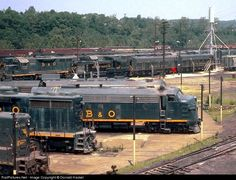 RailPictures.Net Photo: WM 169 Western Maryland Railway Alco RS-3 at Connelsville, Pennsylvania by Donald Haskel