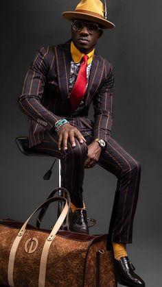 Vision of Beauty Black Mens Fashion Suits, Men Fashion, Sharp Dressed Man, Well Dressed Men, Dandy, Upscale Menswear, Dapper Suits, Mode Costume, Designer Suits For Men