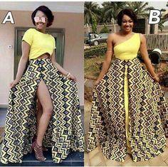 Change it up, change it loud African Print Dress Designs, African Print Dresses, African Wear, African Attire, African Fashion Dresses, African Women, African Dress, African Outfits, Ankara Fashion
