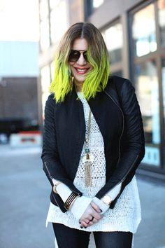 Dani Stahl's Crazy-Cool Hair Color