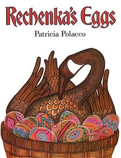 This book always inspired me to make pretty Easter eggs.