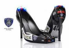 Curious to see this Police Heels | Curious, Funny Photos / Pictures