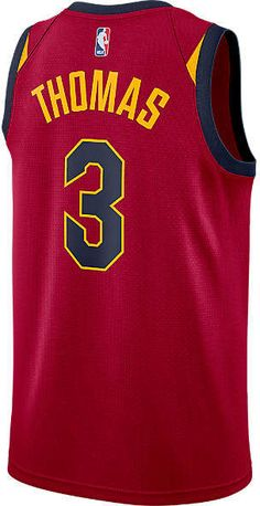 668aaec51 Nike Men s Cleveland Cavaliers NBA Isaiah Thomas Icon Edition Connected  Jersey