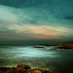 Ocean Dawn Browns and Blues