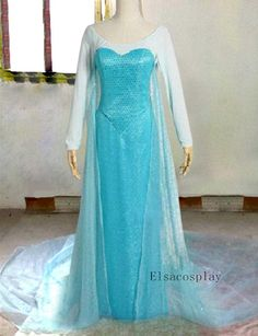 Elsa Dress Elsa Costume Elsa Cosplay for Adult by Elsacosplay