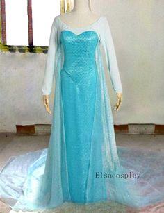 Elsa+Dress+Elsa+Costume+Elsa+Cosplay+for+Adult+by+Elsacosplay,+$149.00