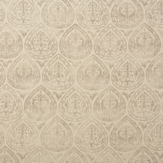 Montague in Putty on Bisque from Rose Tarlow Melrose House #textiles #fabric #hemp #neutral