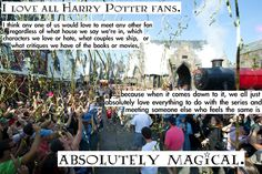 being an hp fan.-this is part of the reason why I love Wizard Rock