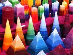 Colorful Diy Candle Lights At Home лучшие изображения 15