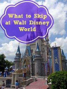 What To Skip at Walt Disney World