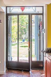 Rideau en cotte de mailles associ un rideau en lin cr ation atmosfer toul - Fenetre metal style atelier ...
