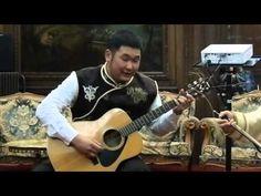 Гитара ! Chant diphonique bouriate par Alexandre SHONO, Paris, le 15 oct...