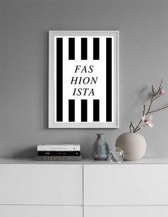 Fashionista, Fashion Print, Womens Gift, Fashion Wall Art, Fashion Poster, Scandinavian Print, Modern Minimalist, Printable Gift for Women #homedecorideas #homedecoronabudget #homedecordiy #homedecorideasmodern #homeoffice #homedecor #homeideas #wallart #walldecor #wallartdiy #art #print #digital #white #modernprint #black #moderndecor #contemporaryart #fashionprint