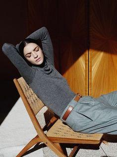 Pantalon gris large à pinces, Hermès 2013... - Tendances de Mode
