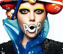 Pop art fashion photography