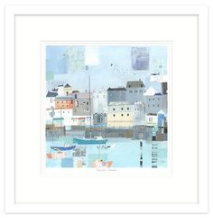 Padstow Framed by Liz & Kate Pope   Whistlefish Galleries