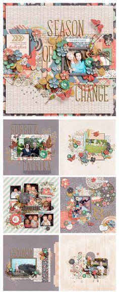 New from Zoe and Studio Flergs – Seasons Of Change!