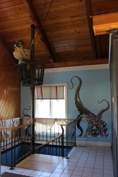 Pirates of the caribbean pool house