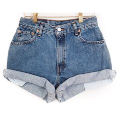 Made to Order Vintage High Waisted Jean Shorts Cut off All Sizes, ALL BRANDS, Levis, Guess, Lee, Wrangler, CK, etc., High Rise Plus Size