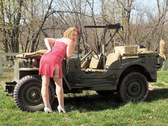Image result for Girls Working On Jeeps