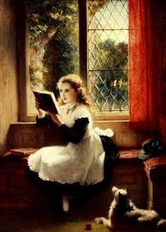 Reading and Art: George Bernard O'Neill