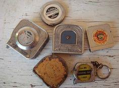 love vintage tape measures!