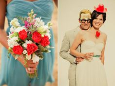 Vivid Coral Wedding Color Inspiration