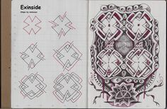New Tangle Exinside, Review of the Daycraft MyTravel Notebook « lifeimitatesdoodles